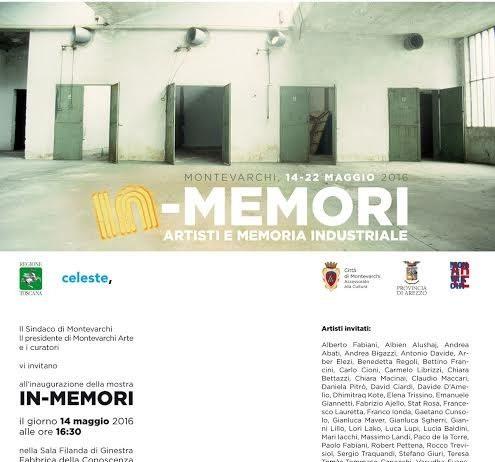 In-Memori. Artisti e memoria industriale