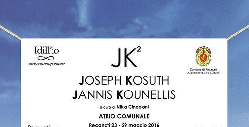 Joseph Kosuth / Jannis Kounellis – JK2