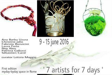 7 artist for 7 days