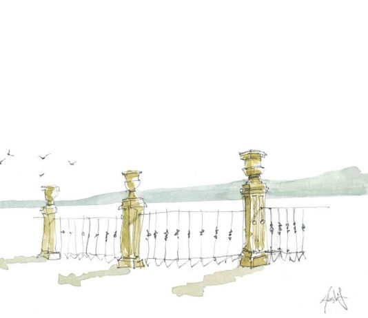 Alessandro Alghisi  – Iseo. The lake in a watercolor tale.