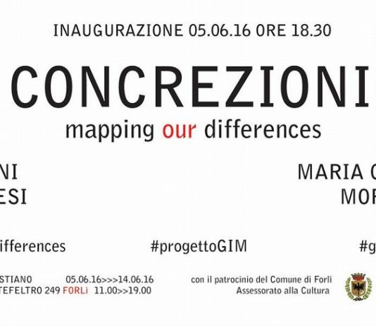 Concrezioni. Mapping our differences