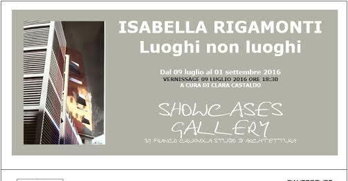 Isabella Rigamonti – Luoghi non luoghi