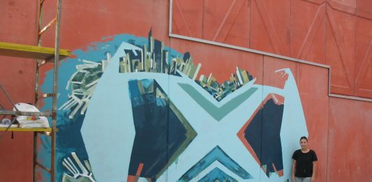 Mariana Palomino – Un murale dedicato a Adolfo Natalini