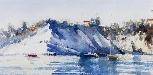 Simone De Marco – Around Girgenti watercolors