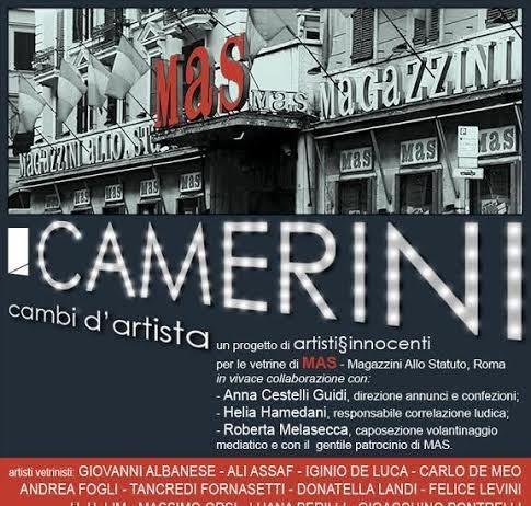 Camerini / Cambi d'artista