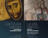 Dai Musei Vaticani San Francesco di Margarito d'Arezzo