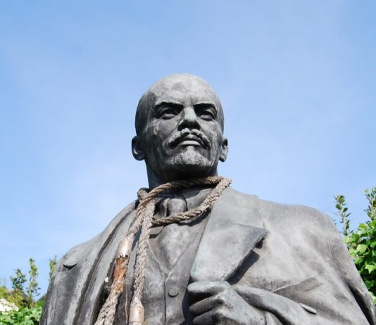 Flavio Favelli – Container Lenin