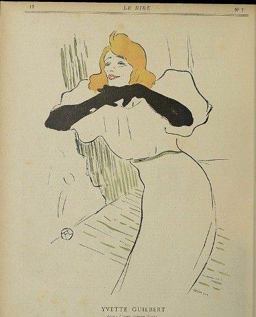 Henri de Toulouse-Lautrec – Le Rire