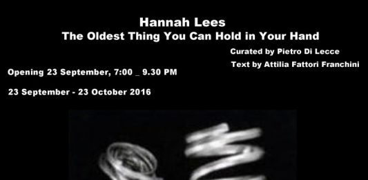 Hannah Lees – The Oldest Thing You Can Hold In Your Hand