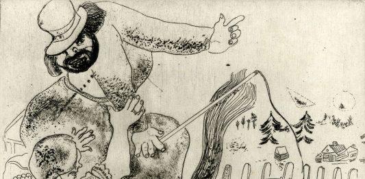 Il villaggio di Chagall. Cento incisioni da 'Le Anime Morte'