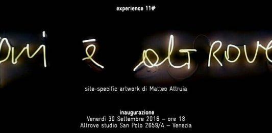 Matteo Attruia – Qui è altrove