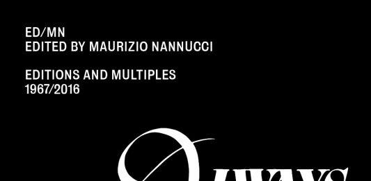 Presentazione del Volume ED/MN edited by Maurizio Nannucci editions and multiples 1967/2016