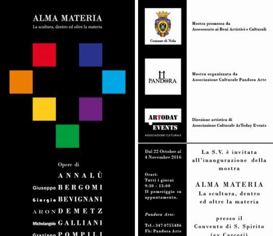 Alma Materia – La scultura, dentro ed oltre la materia