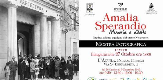 Amalia Sperandio – Memoria e diletto