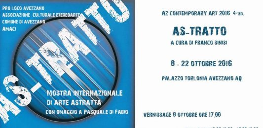 AZ contemporary art 4° edizione: As-Tratto