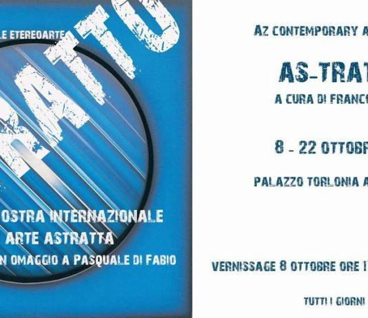 AZ contemporary art 4° edizione: As-Tratto