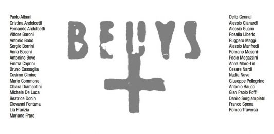 In Memory of Joseph Beuys