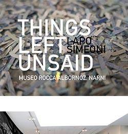 Lapo Simeoni – Things Left Unsaid