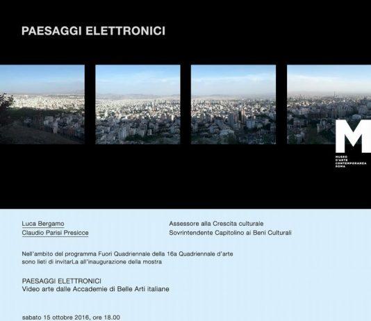 Paesaggi elettronici