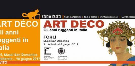 Art Decò. Gli anni ruggenti in Italia
