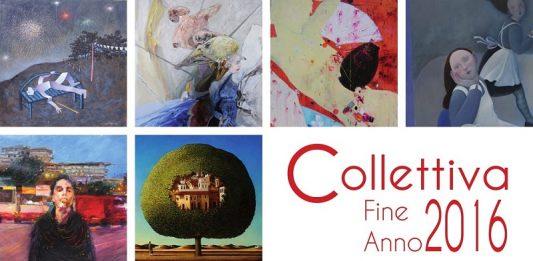 Collettiva di Fine Anno 2016. Mostra mercato d'arte contemporanea