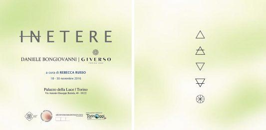 Daniele Bongiovanni / Giverso – InEtere