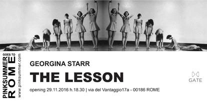 Georgina Starr – The Lesson