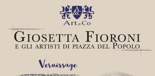 Giosetta Fioroni e la scuola di Piazza del Popolo