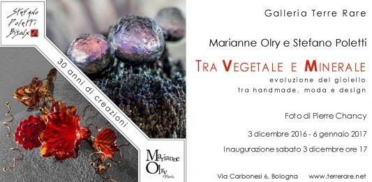 Marianne Olry / Stefano Poletti – Tra vegetale e minerale. Evoluzione del gioiello tra hand made, moda e design
