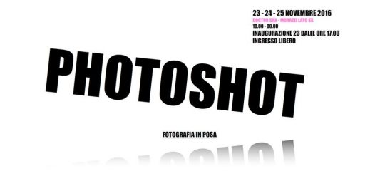 Photoshot. Fotografia in posa