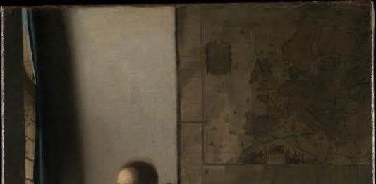 Vermeer, la donna con il liuto dal Metropolitan Museum