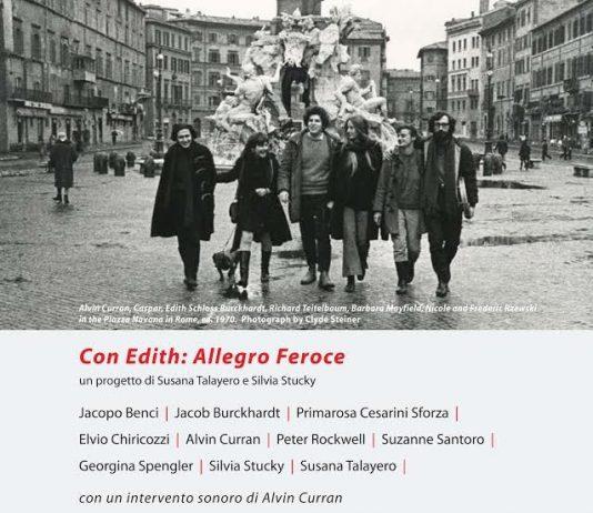 Con Edith: Allegro Feroce