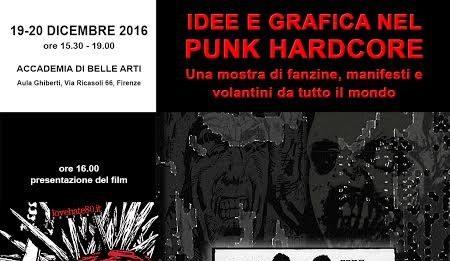 Idee e grafica nel Punk hardcore