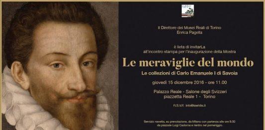 Le meraviglie del mondo. Le collezioni di Carlo Emanuele I di Savoia a Torino