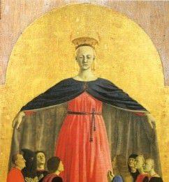 Piero della Francesca – La Madonna della Misericordia