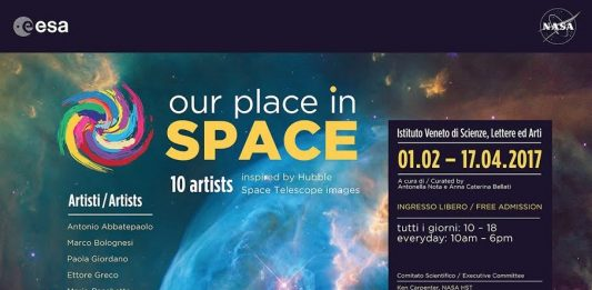 Our Place in Space. 10 Artists inspired by Hubble Space Telescope images