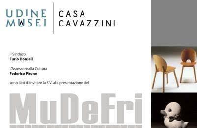 Presentazione MuDeFri – Museo del Design del Friuli Venezia Giulia