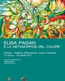 Elisa Pagan – E la metamorfosi del colore