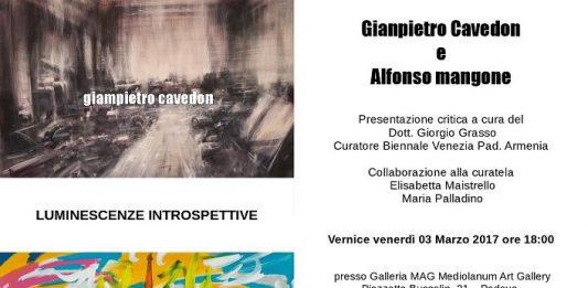 Fernando Alfonso Mangone / Giampietro Cavedon – Luminescenze Introspettive