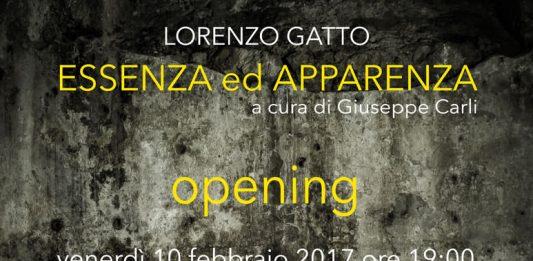 Lorenzo Gatto – Essenza ed Apparenza