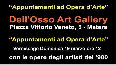 Appuntamenti ad Opera d'Arte
