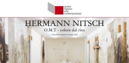 Hermann Nitsch – O.M.T Orgien Mysterien Theater (Teatro delle Orge e dei Misteri) – Colore dal Rito