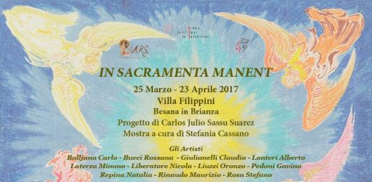In sacramenta manent. Artisti contemporanei in dialogo  sul Sacro con Aligi Sassu