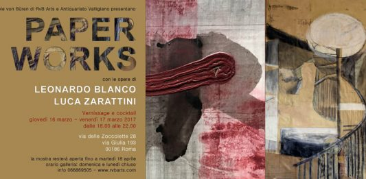 Leonardo Blanco / Luca Zarattini – Paper Works