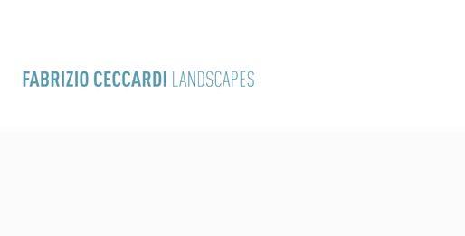 Presentazione editoriale + Fabrizio Ceccardi – Landscapes
