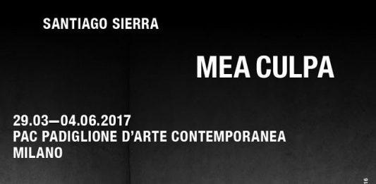 Santiago Sierra – Mea Culpa