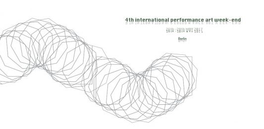 4th International Performance Art Weekend