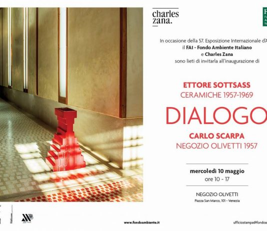 Dialogo. Ettore Sottsass Ceramiche 1957 – 1969, Carlo Scarpa Negozio Olivetti 1957