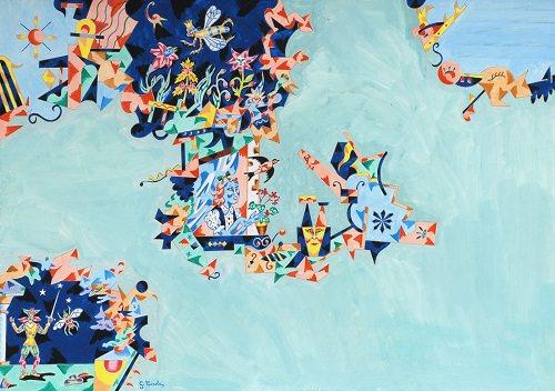 Gabriele Turola – Mappe di viaggi dipinti