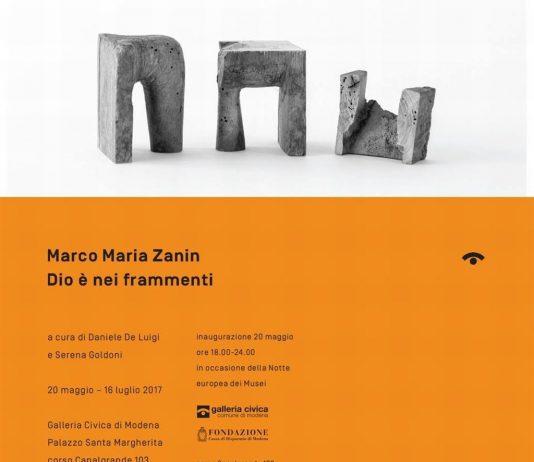 Marco Maria Zanin – Dio è nei frammenti